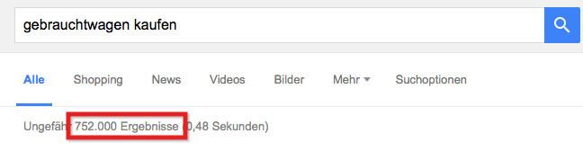 google-organische-ergebnisse
